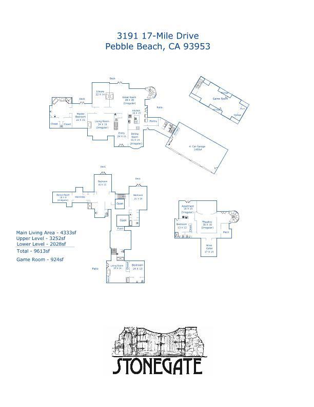 Property Listing 3191 17 Mile Drive Pebble Beach